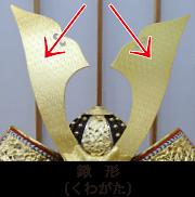 鍬形(くわがた)