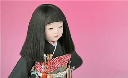 写真:市松人形