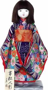 写真:朋の市松人形