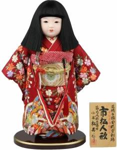 写真:松寿作の市松人形